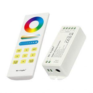 Sterownik LED RGBW pilot
